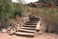 лестницы пустыни Стоковое Фото
