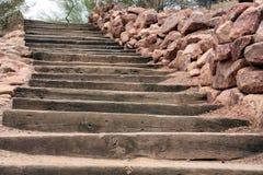 лестницы пустыни Стоковые Фотографии RF