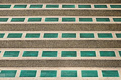Лестницы плитки и камешка для картины Стоковые Фото