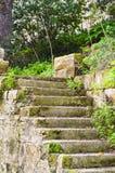 Лестницы сельского дома Стоковая Фотография RF