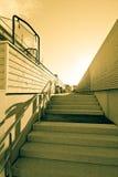 Лестницы снаружи Стоковое Изображение