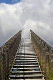 лестницы стальные Стоковое Фото