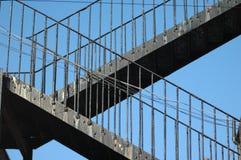 лестницы топочной кочерги избежания Стоковое Изображение