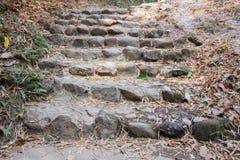 Лестницы утеса Стоковое фото RF