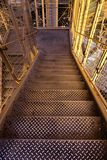 лестницы фабрики металлические стоковое фото rf