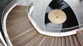 лестницы фонтана к Стоковые Фото