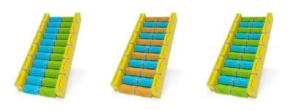 Лестницы чемодана Стоковая Фотография RF