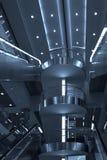 лестницы moscow эскалатора авиапорта Стоковое фото RF