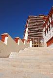лестницы potala дворца к Стоковая Фотография RF