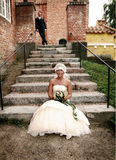 лестницы wedding Стоковое Фото