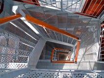 лестничный колодец лестницы стоковое изображение rf