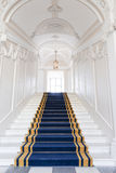 Лестничный колодец в польском дворце. Стоковая Фотография