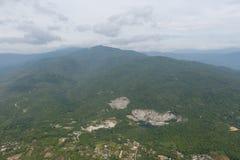 Лес в северных провинциях Таиланда Стоковые Фотографии RF