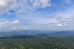Лес в северных провинциях Таиланда Стоковое фото RF