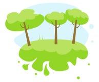 Лес иллюстрация вектора