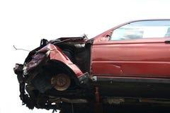 летание автокатастрофы Стоковое фото RF