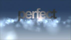 Летание анимации через облака с текстом праздника, петлей HD 1080p иллюстрация штока