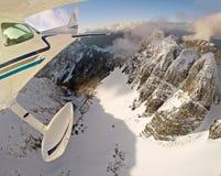Летание горы стоковое фото