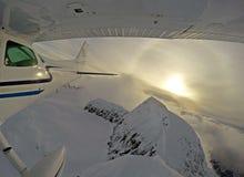 Летание горы стоковое изображение
