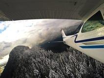 Летание горы стоковая фотография