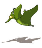 летание динозавра Стоковые Изображения