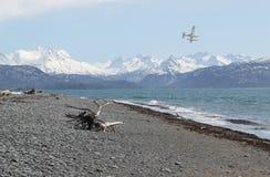 летание залива сверх Стоковая Фотография RF