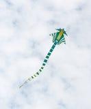 Летание змея в воздухе Стоковая Фотография