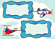 летание знамени Стоковая Фотография