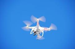 Летание камеры w трутня GoPro Quadcopter Стоковые Фото