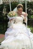 летание невесты Стоковые Изображения