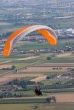 летание предпосылки Стоковая Фотография RF