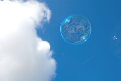 летание пузыря Стоковое Изображение RF