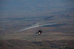 Летание планера вида в горах в Makedonia Стоковая Фотография