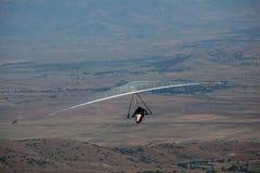 Летание планера вида в горах в Makedonia Стоковое Изображение RF