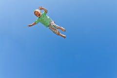 летание ребенка Стоковые Фото