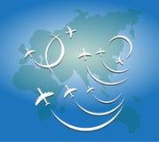 Летание самолета воздуха бесплатная иллюстрация