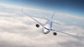Летание самолета Стоковое фото RF