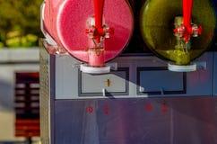 Летание шершня и ледистые напитки Стоковое Изображение RF