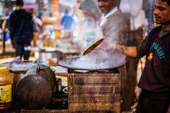 Летание Parathas Стоковые Фото