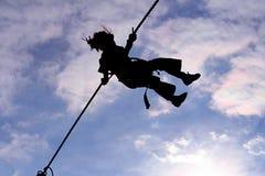 летать высоко Стоковое Изображение
