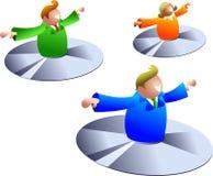 летать дисков Стоковая Фотография RF