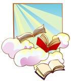 летать книг Стоковая Фотография RF