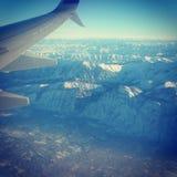 Летать к северу от стены Стоковое Изображение
