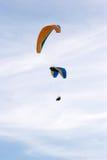 летать над городком Стоковая Фотография