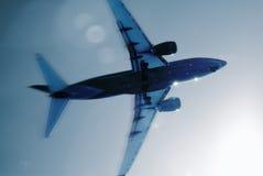 летать назначения солнечный к стоковое изображение rf