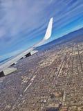 Летать над ЛА Стоковые Изображения