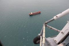 Летать над Чёрным морем Стоковые Изображения