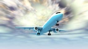 Летать самолет бесплатная иллюстрация
