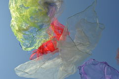 летать тканей Стоковое Фото