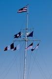 летать флагов Стоковое Изображение